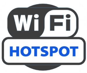 MARTZ WiFi Hotspot sign